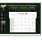 TE LCD Therm-O-Dex Desk Calendars